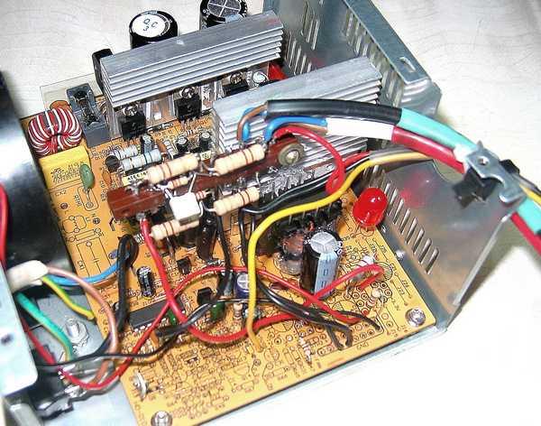 Как сделать зарядное устройство из компьютерного блока питания fsp250 648